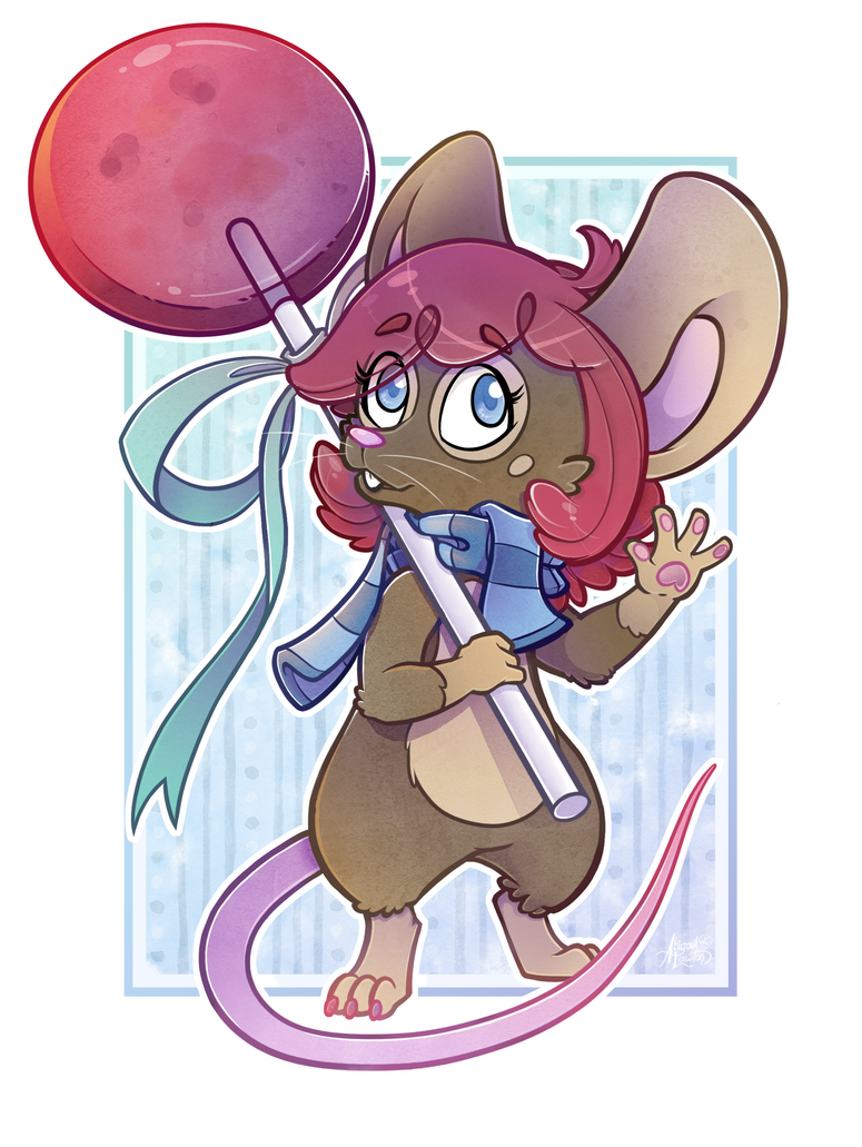 Sweet mousie by zixmix