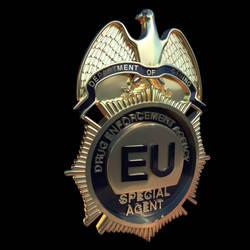 DEA badge by Thunor