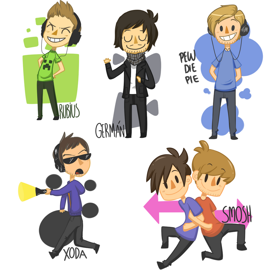 YOUTUBERS by Frammur