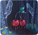 Cherries In The Buttercup Forest by AGblend13