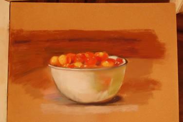 Cherrys in bowl