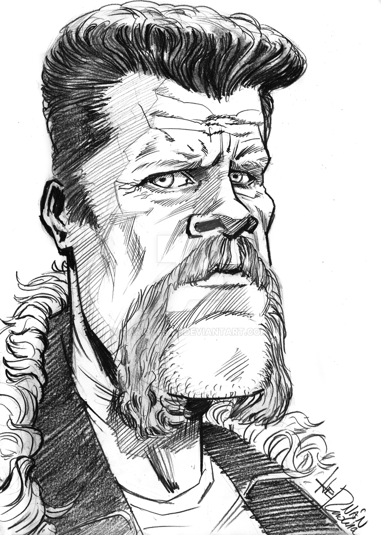 Abraham - TheWalkingDead by dariocesar