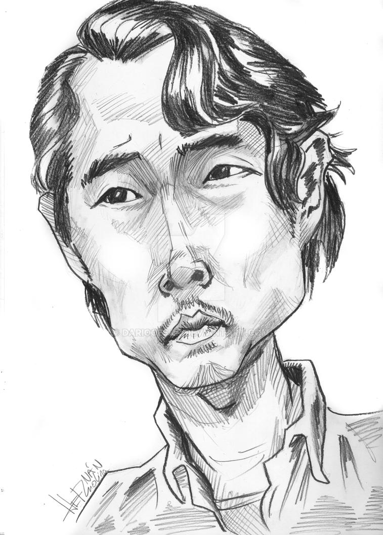 Glenn-thewalkingdead by dariocesar