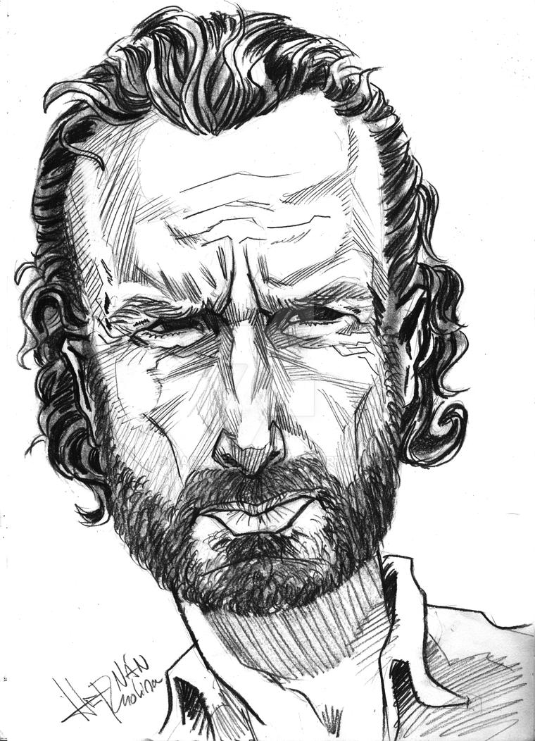 Rick - TheWalkingDead by dariocesar