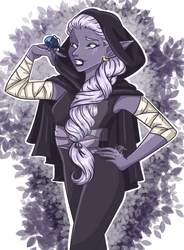 .:a drow and her friend:.
