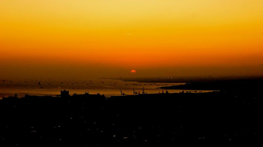 Gün Batımı İstanbul .