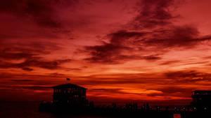 Sunset at Moda, Kadikoy 2
