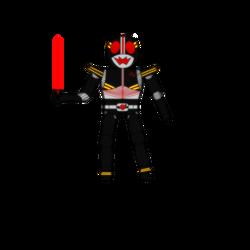 Redesign - KAMEN RIDER BLACK