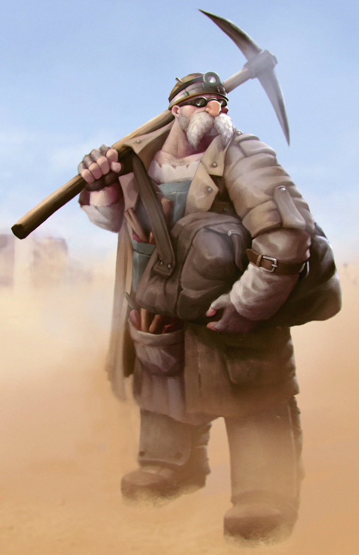 Post-apocalyptic Mustachio by HendryRoesly