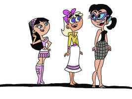 Fairly OddFamily Height Chart (Colored)!!!