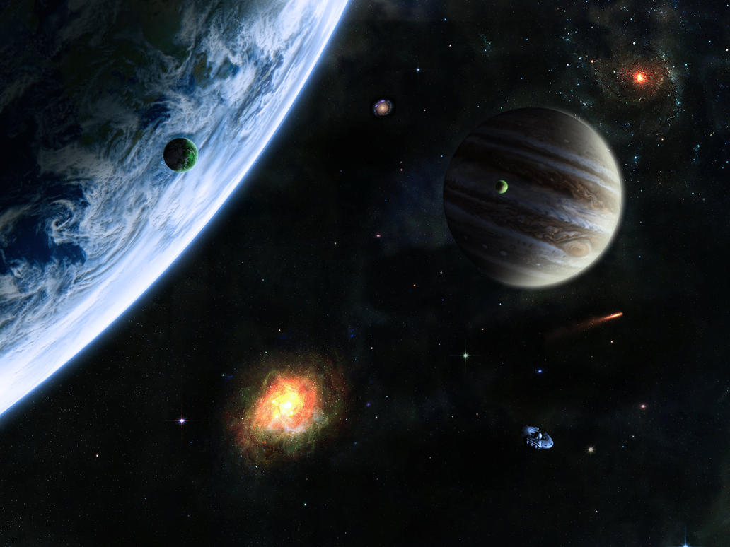 In outer space by ifreex on deviantart in outer space by ifreex toneelgroepblik Choice Image