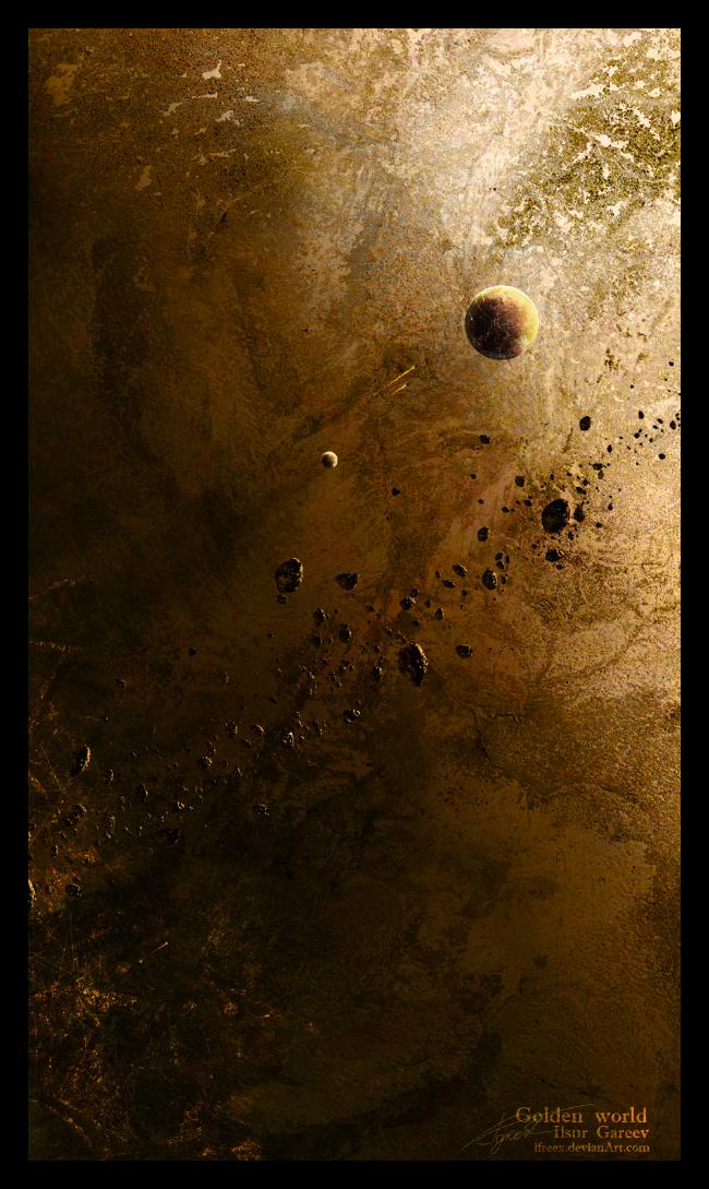 Golden World by ifreex