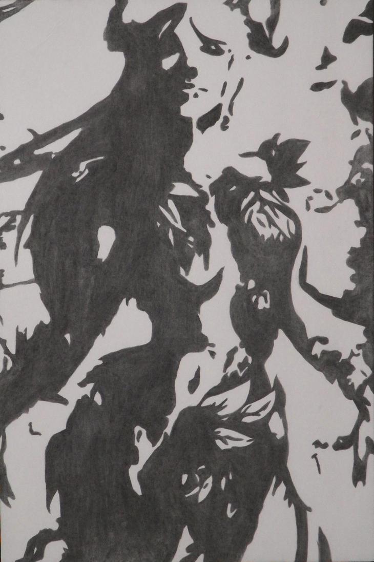 Hel, Goddess of the Underworld, Solstice by J-Mac09