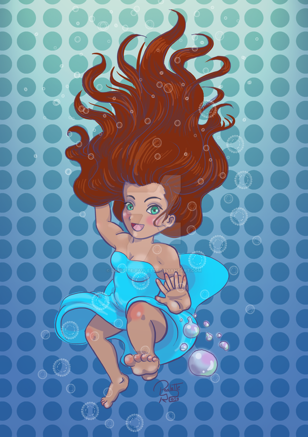 Water Witch_Chibi by lapetite-paulette
