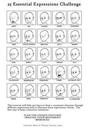 Facial Expression practise
