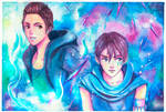 Angel407 Collab: Hai and Riven by peacheyi