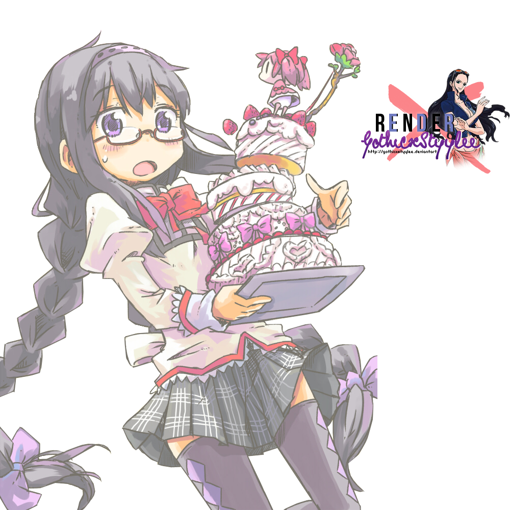 Image result for hatsune miku with cake render