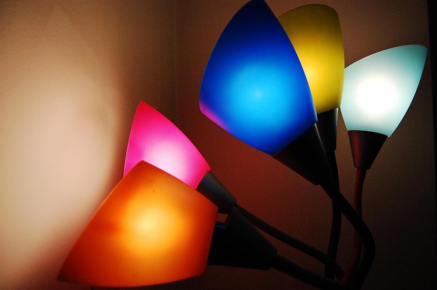 Colored Lamp 3 by JmeJ on DeviantArt