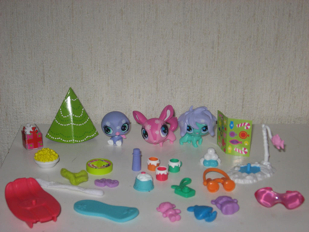 all things from lps advent calendar 2012 by twilightberry on deviantart