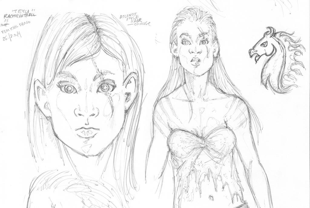 Rachell Lutrell as Fem Khal Drago 01 by Neumatic