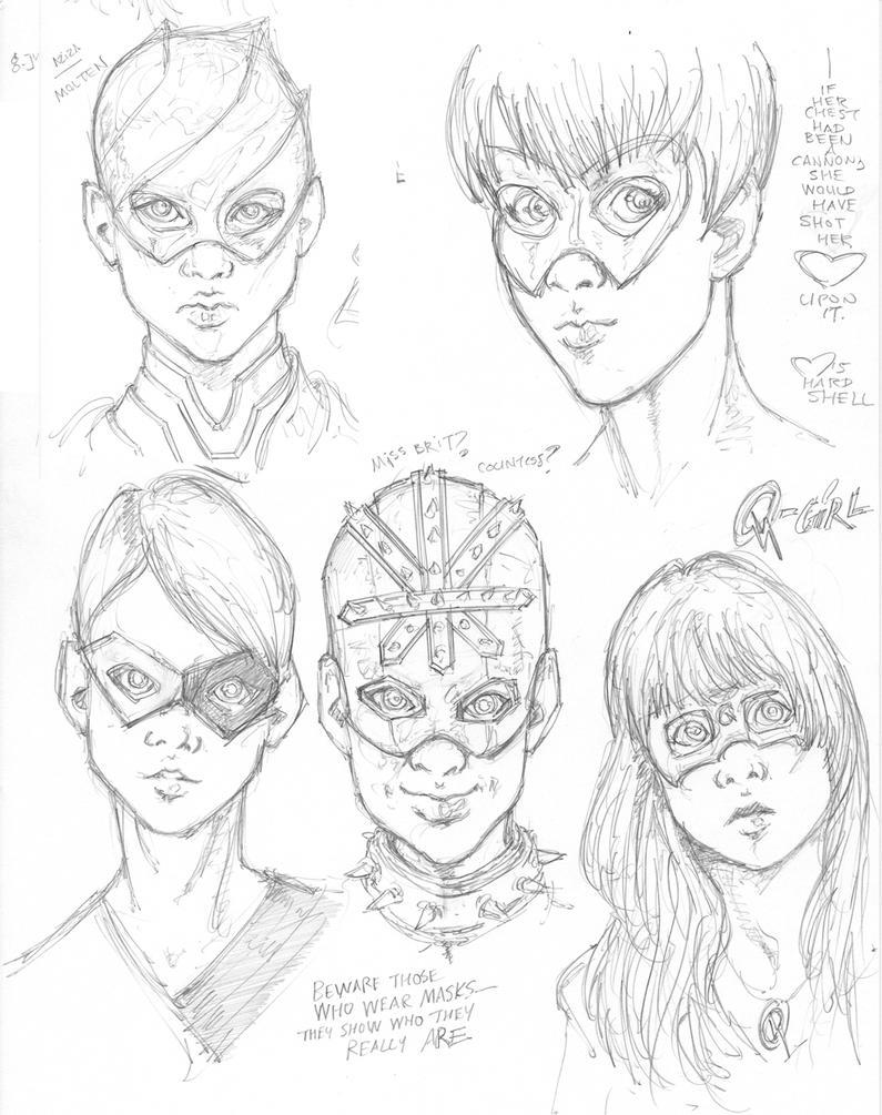 Beware Masks by Neumatic