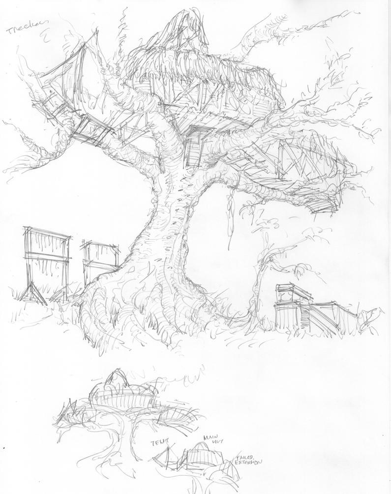 Ateka's Treehouse by Neumatic