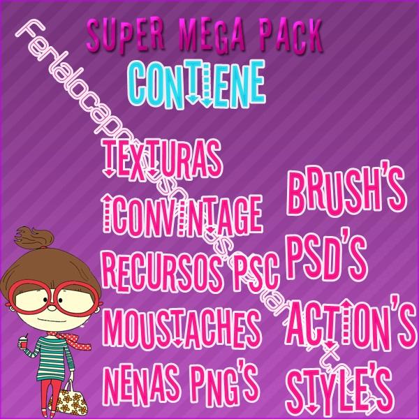 Super Mega Pack  [Lee Antes de descargar] by Ferlalocaporsusoppas