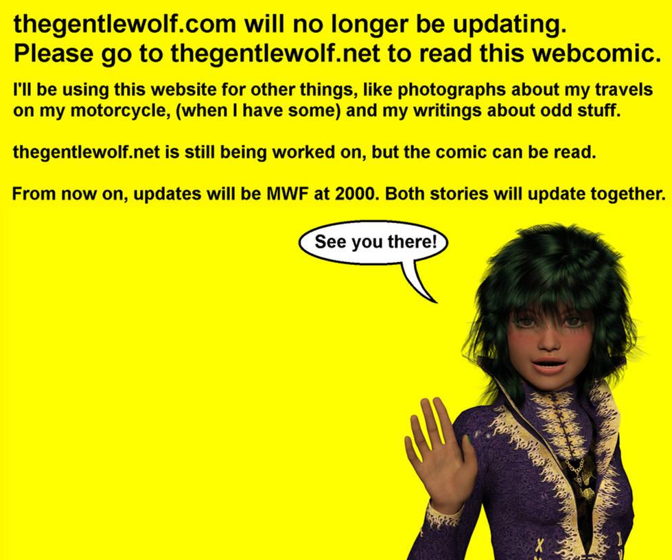 New Website, Same Webcomic.