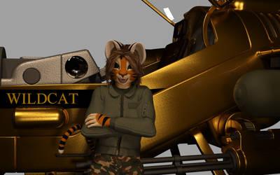 Wildcat Wallpaper 001 by Cat-man-dancing