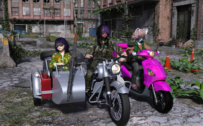 Riders of the Apocalypse 001 by Cat-man-dancing