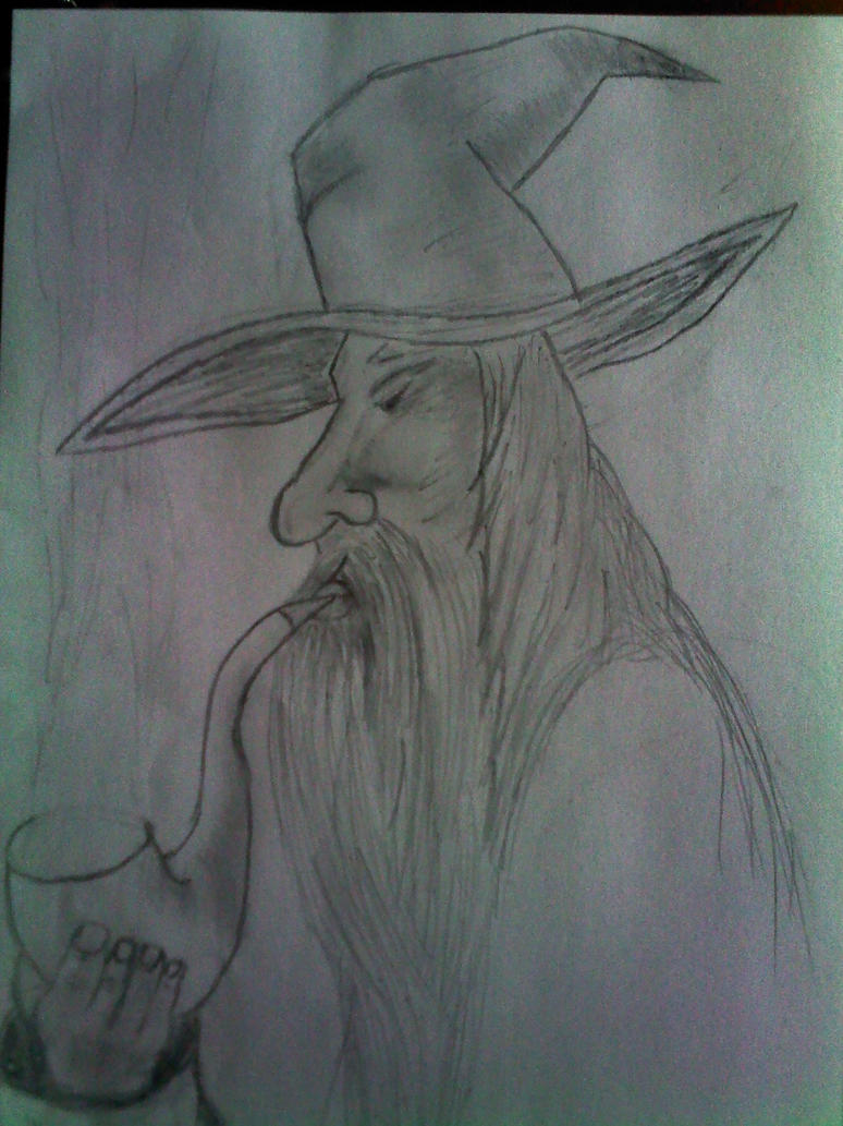 Quelques dessins au crayon Gandalf_by_melvinduckart-d64raco