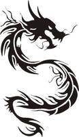 Dragon tattoo by Starless-Night
