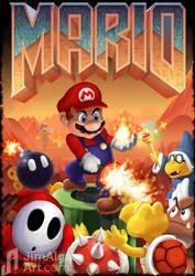 Mario's Doom by jimalgar