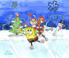A Merry Spandy Christmas by Spongefifi