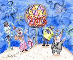 Happy 2013! by Spongefifi