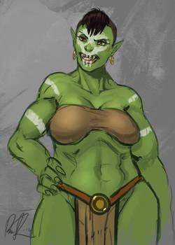 She-orc spitpaint3