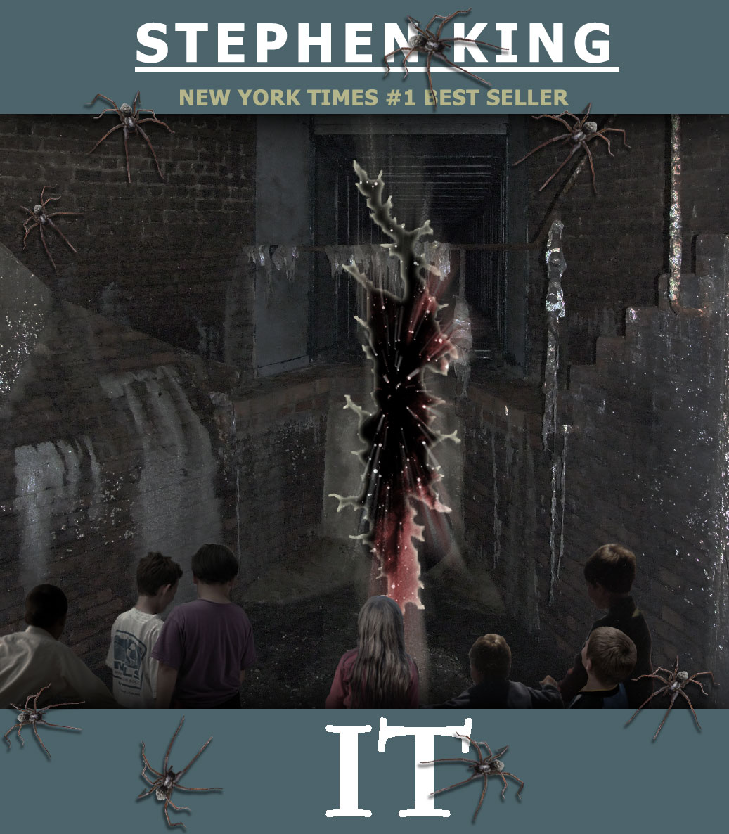 Stephen King's 'It' Book Cover