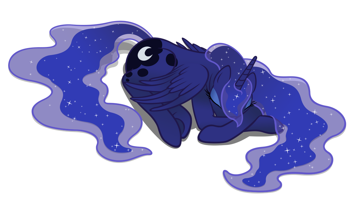 MLP - Sleepyluna by Shachza