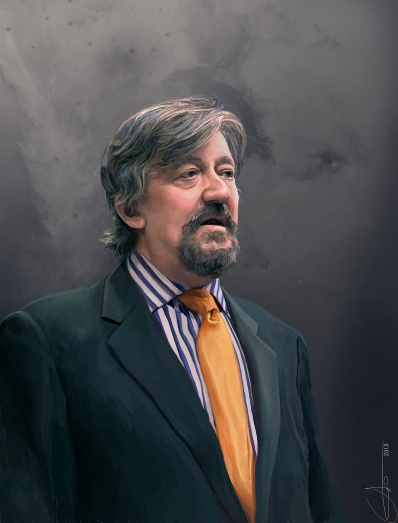 Stephen Fry by Hortensie-Stone