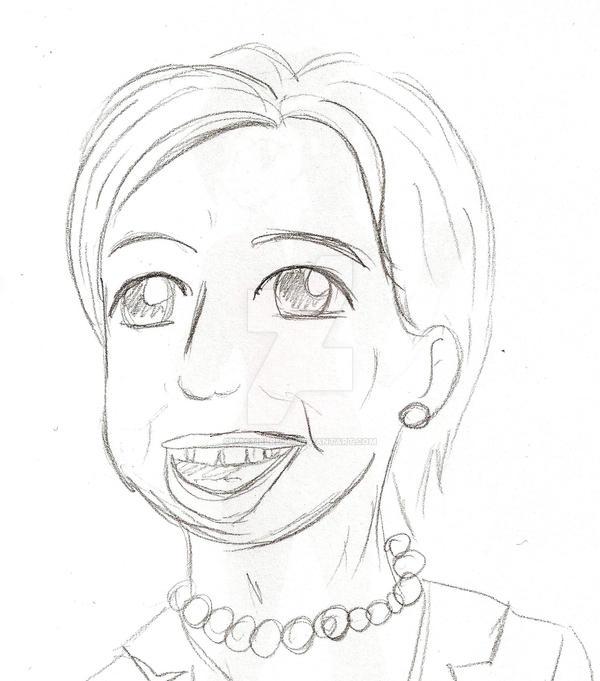 Hillary by LastielRusc