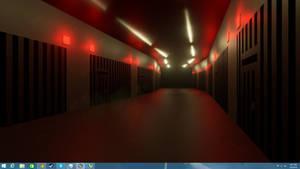 Jail Hallway 1