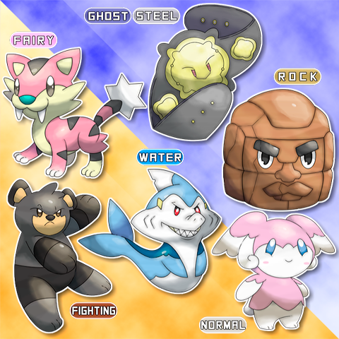 NEW POKEMON REVEALS! by Nei7alves
