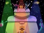 Deltarune Party by ferralchild