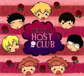 Ouran HS Host Club Chibi by Paaat19