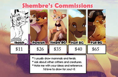 Shembre's Commissions 2016 by Shembre