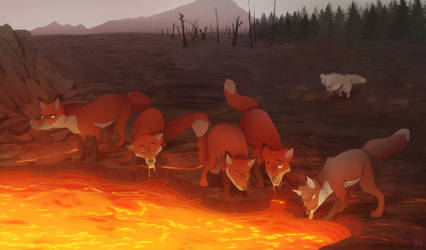This Is(n't) Why Foxes Are Orange by Shembre