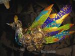 Imperial Peacock Brooch