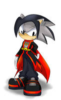 AT:Verkins the Hedgehog by Unichrome-uni