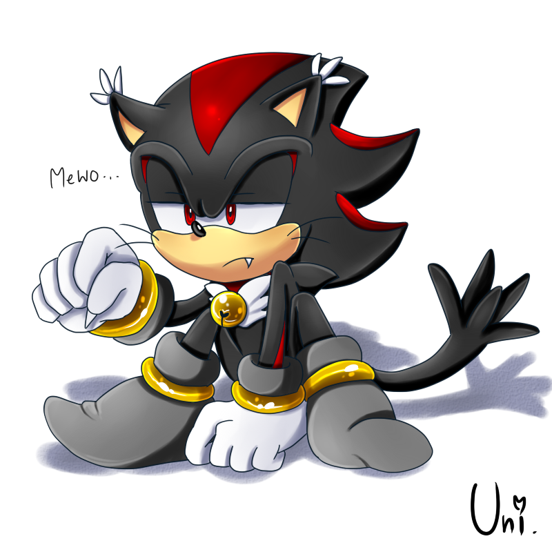Shadow the Meow-Hog(?) by Unichrome-uni