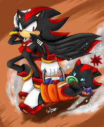 Shadow Halloween Costume by Unichrome-uni